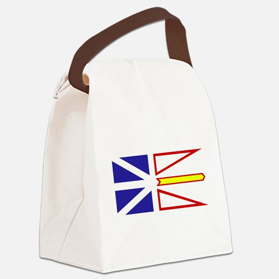 Newfoundland and Labrador.png Canvas Lunch Bag