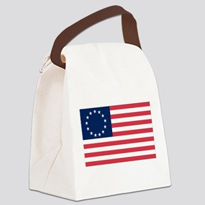 Betsy Ross flag Canvas Lunch Bag