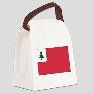 Continental Flag Canvas Lunch Bag
