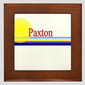 Paxton Framed Tile