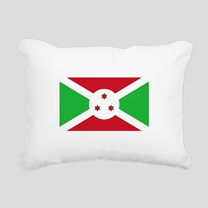Burundi Rectangular Canvas Pillow