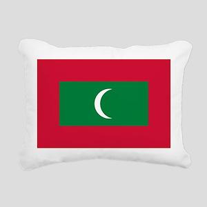 Maldives Rectangular Canvas Pillow