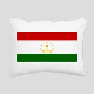 Tajikistan Rectangular Canvas Pillow