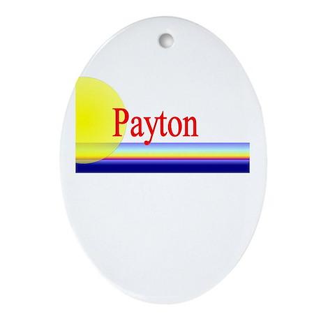 Payton Oval Ornament