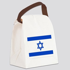660px-Flag_of_Israel Canvas Lunch Bag