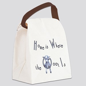 GOAT-homeiswhere Canvas Lunch Bag