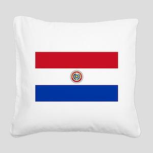 Paraguay.ng Square Canvas Pillow