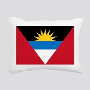 Antigua_and_Barbuda Rectangular Canvas Pillow