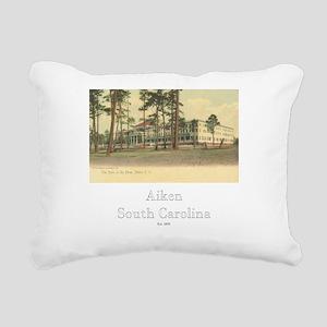 Park in thepines2 Rectangular Canvas Pillow
