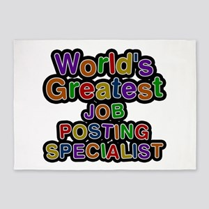 World's Greatest JOB POSTING SPECIALIST 5'x7' Area