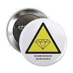 """Diamondoid Surfaces 2.25"""" Button"""