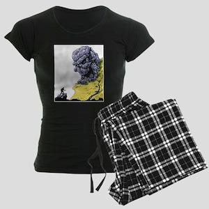 Disc Golf SKULL CAVE Women's Dark Pajamas