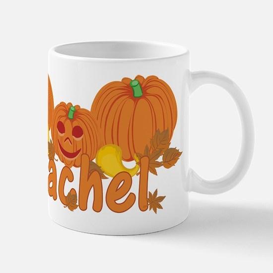 Halloween Pumpkin Rachel Mug