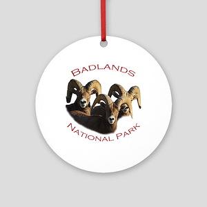 Badlands National Park Ornament (Round)