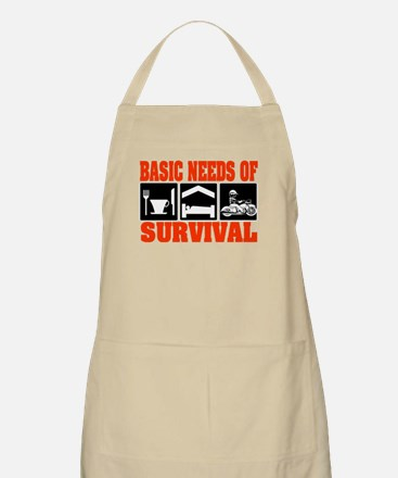 Basic Needs of Survival Apron