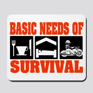 Basic Needs of Survival Mousepad