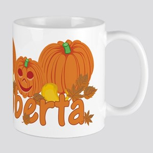Halloween Pumpkin Roberta Mug