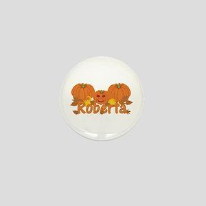 Halloween Pumpkin Roberta Mini Button