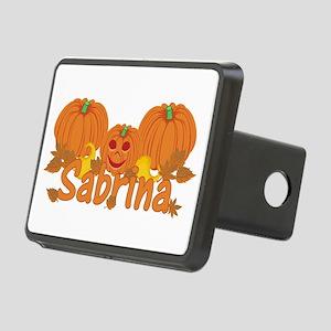 Halloween Pumpkin Sabrina Rectangular Hitch Cover