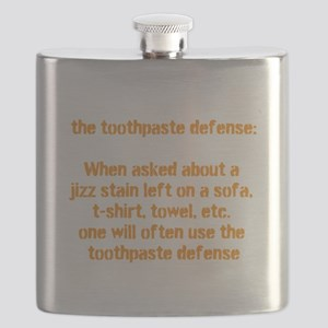 toothpaste defence Flask