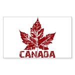 Cool Canada Souvenir Ret Sticker (Rectangle 10 pk)