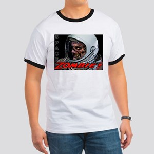 Space Zombie Ringer T