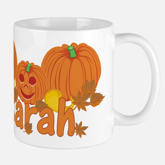 Halloween Pumpkin Sarah Mug