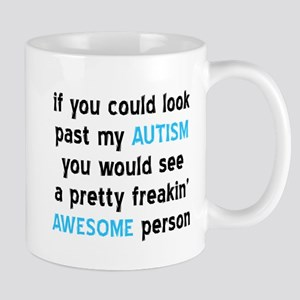 Look Past My Autism Mug