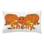 Halloween Pumpkin Shelly Pillow Case