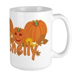 Halloween Pumpkin Shelly Large Mug