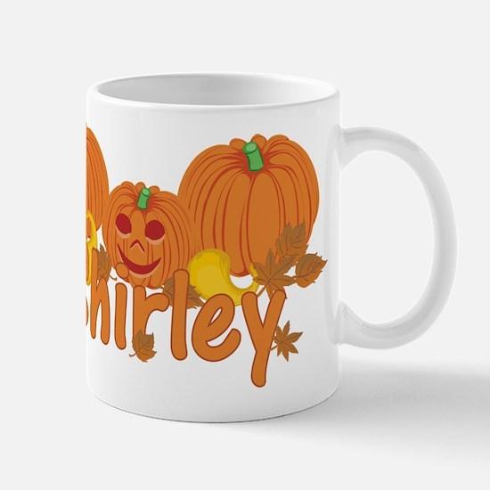 Halloween Pumpkin Shirley Mug