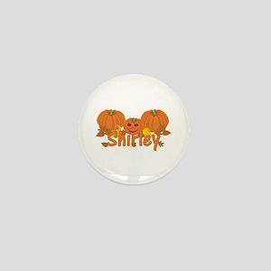 Halloween Pumpkin Shirley Mini Button