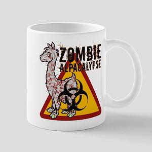Zombie Alpacalypse Mug