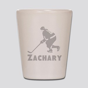 Personalized Hockey Shot Glass