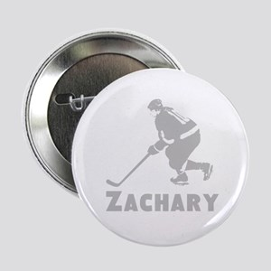 "Personalized Hockey 2.25"" Button"