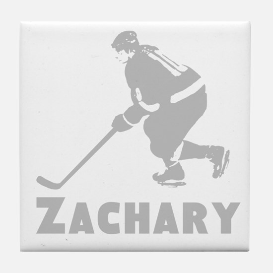Personalized Hockey Tile Coaster