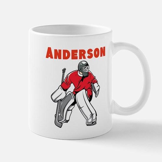 Personalized Hockey Mug
