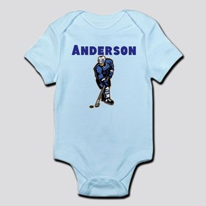 Personalized Hockey Infant Bodysuit