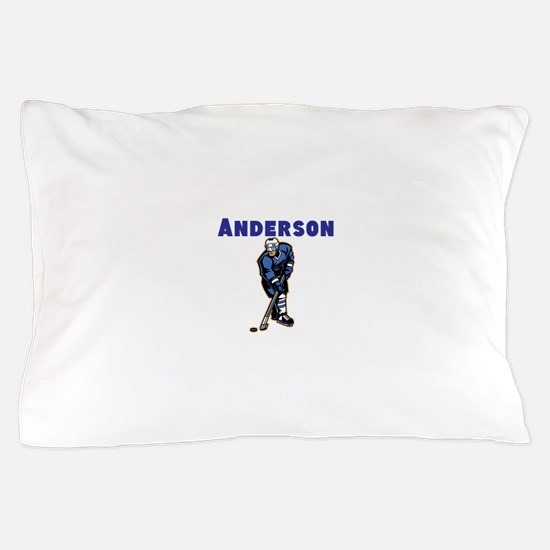 Personalized Hockey Pillow Case