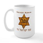 Yellow Star Large Mug