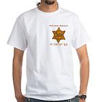 Yellow Star White T-Shirt