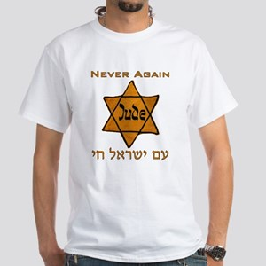 Yellow Star White T-Shirt