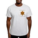 Yellow Star Ash Grey T-Shirt