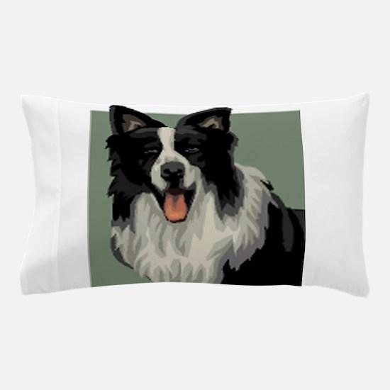 Border Collie Pillow Case