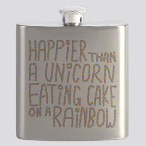 Happier Than A Unicorn... Flask