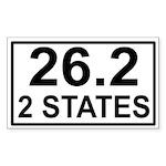 262in2 Sticker (Rectangle 10 pk)