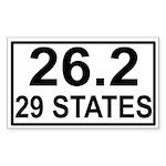 262in29 Sticker (Rectangle 10 pk)