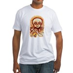 The Sun's Skull Fitted T-Shirt