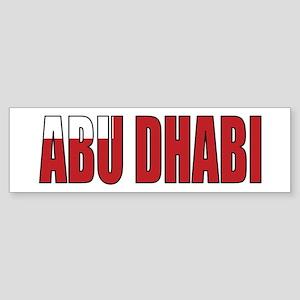 Abu Dhabi Bumper Sticker
