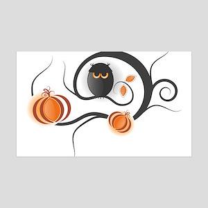 Whimsical Halloween 35x21 Wall Decal